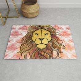 King The Lion Rug
