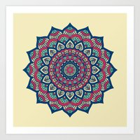 islam Art Prints featuring Mandala by Mantra Mandala