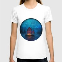 night T-shirts featuring Our Secret Harbor by Aimee Stewart