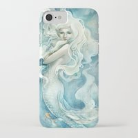 iPhone Cases featuring Mermaid by StrijkDesign