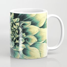 La Dahlia Blue Coffee Mug
