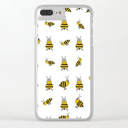 Whats The Buzz Clear iPhone Case