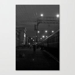 Five O'Clock Stop Canvas Print