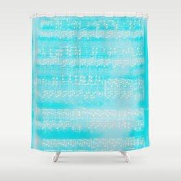 Schubert Sheet Music - Impromptu (v2) Shower Curtain