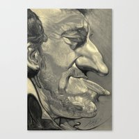 springsteen Canvas Prints featuring Springsteen by Alan Carlstrom