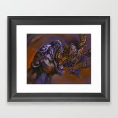 Gentle Roar Framed Art Print