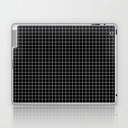 Black Grid Laptop & iPad Skin