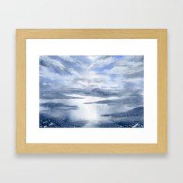 As Above, So Below. Framed Art Print
