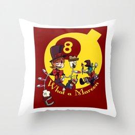 Skullgirls-Peacock(Color) Throw Pillow