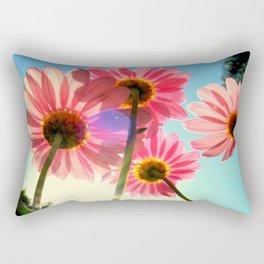 dancing in the sun Rectangular Pillow