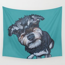Benji the Schnoodle Wall Tapestry
