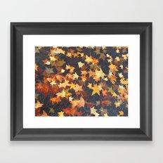 Earth Stars Framed Art Print