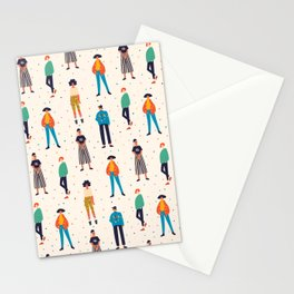 These girls can kick your butt! Stationery Cards