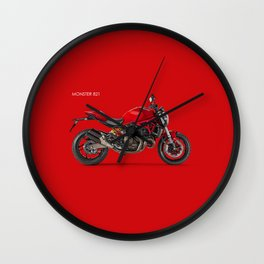 Monster 821 Wall Clock
