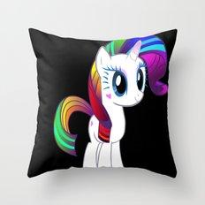 Diamond Princess in the Dark Throw Pillow