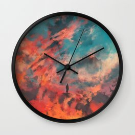 Ashes of Gomorrah Wall Clock