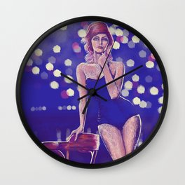 Paint & Scribble Wall Clock