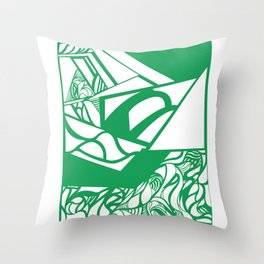 C6 Throw Pillow