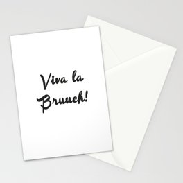 Viva la Brunch Stationery Cards