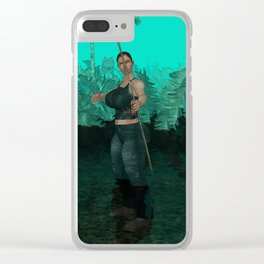 Survivor is comming out Clear iPhone Case