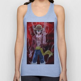 luffy gearfour Unisex Tank Top
