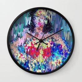 Superhero Type Art Comics Woman Wall Clock
