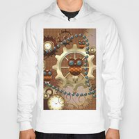 steampunk Hoodies featuring Steampunk  by nicky2342