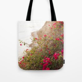 Seaside Bougainvillea Tote Bag