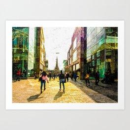 Shopping  Art Print