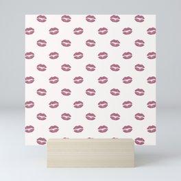 Pink Diva Lips Mini Art Print
