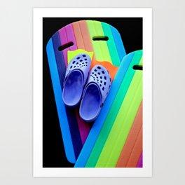 Beachy Keen! Art Print