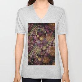 Magical dream, fractal abstract Unisex V-Neck
