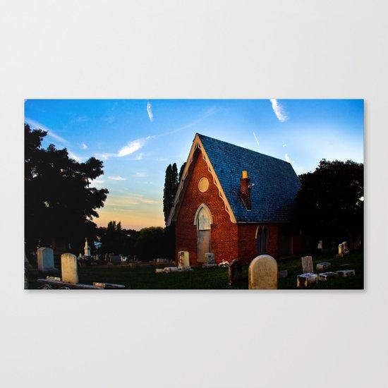 Woodward Hill Canvas Print