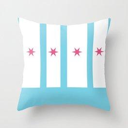 Chicago remix Throw Pillow