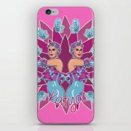 Katya Zamolodchikova - Jelly Fish iPhone Skin