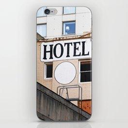 H OTEL iPhone Skin
