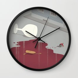 Hangover Wall Clock