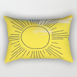 Boho Sunrise  Rectangular Pillow