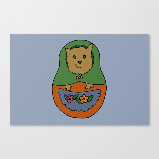 Piptroyshka Canvas Print