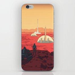 Future Desert City iPhone Skin