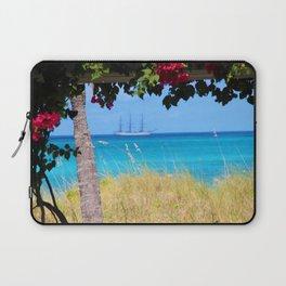 Turks & Caicos Sailboat Laptop Sleeve
