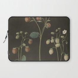 Botanical Wild Strawberry Laptop Sleeve