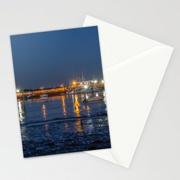 Night time reflections. Stationery Cards