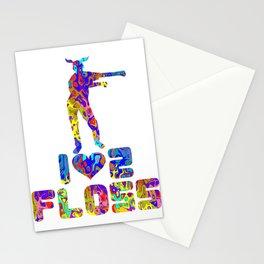 Floss Like A Boss Dance Flossing Dance Shirt Gift Idea I love to floss Stationery Cards