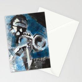 Miles Monoprint Stationery Cards