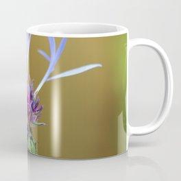 Cornflower Close Up - Flower Photograph Coffee Mug