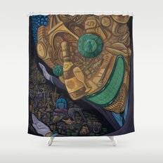 The Hard Sell Shower Curtain