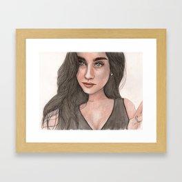 Lauren Jauregui Framed Art Print