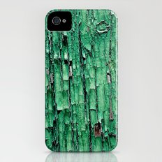 Green Paint iPhone (4, 4s) Slim Case