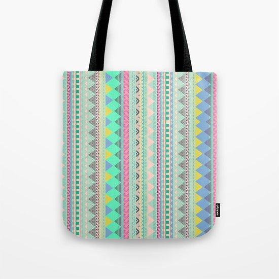 PASTEL AZTEC Tote Bag